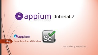 How to scroll in Appium using UIScrollable & UISelector classes