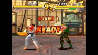 Street Fighter EX2 Plus - Ryu Playthrough