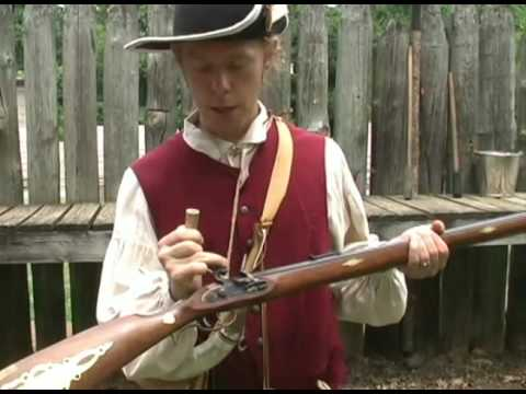 Revolutionary War Musket & Powder