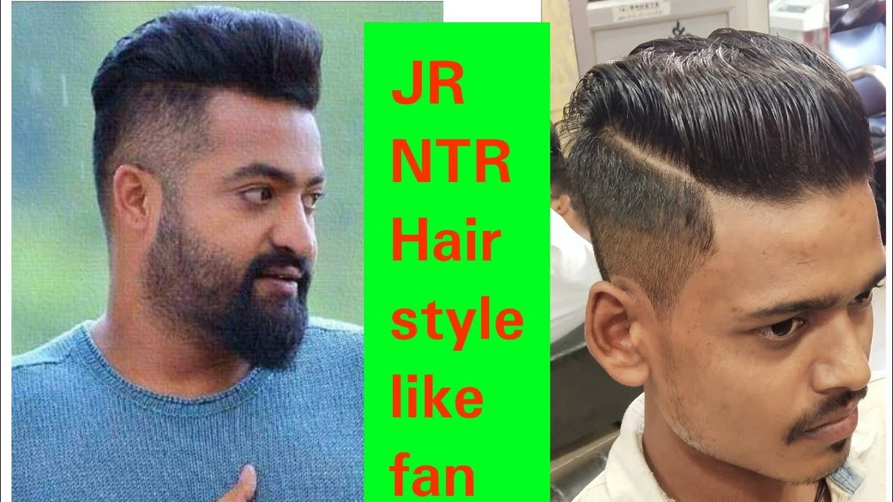Jr Ntr Hair Style Like Fan New Video 2018 Youtube