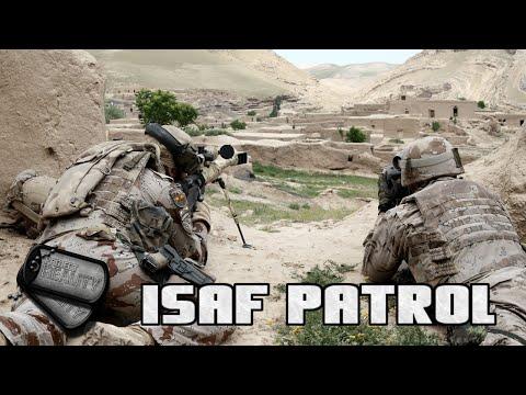Project Reality v1.3.9 [] Lashkar Valley, ISAF Combat Patrol [] Full Round