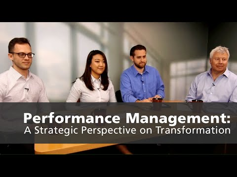 Performance Management: A Strategic Perspective on Transform