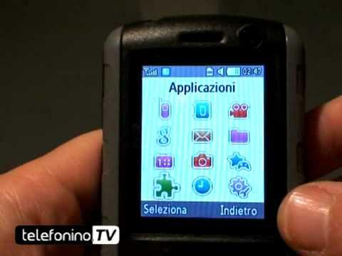Samsung B2700 videoreview da telefonino.net