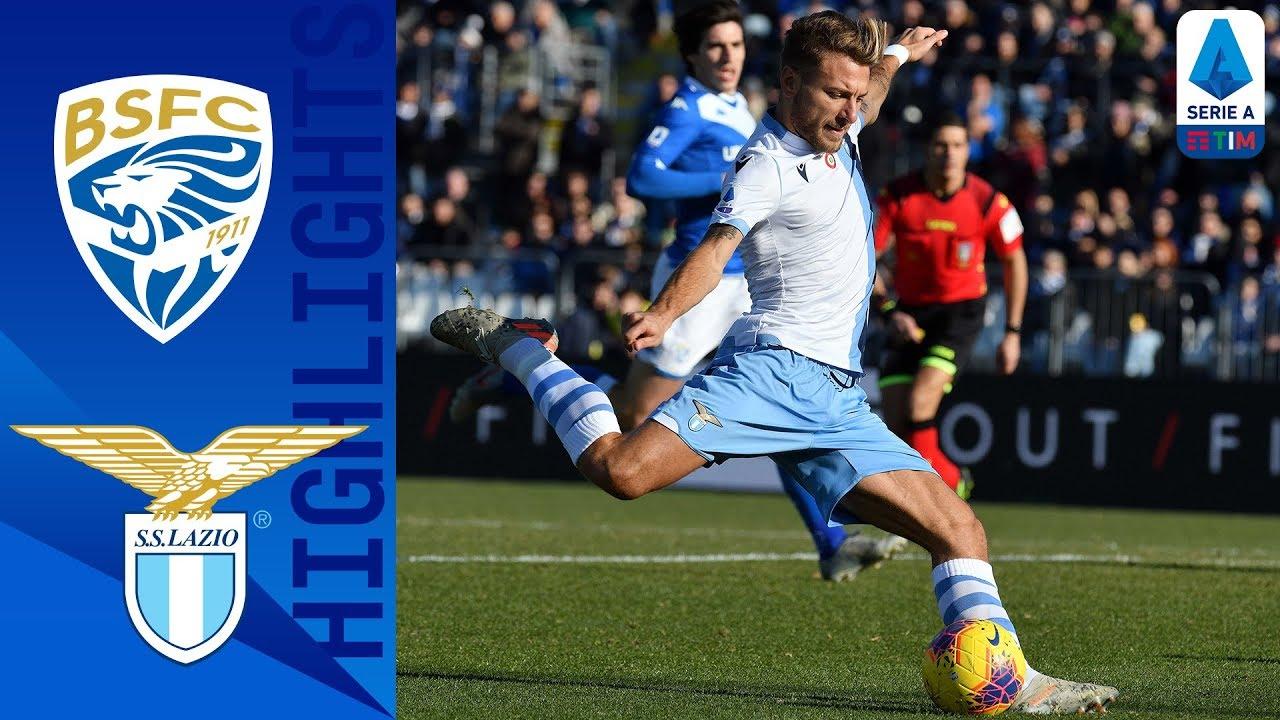 Brescia 1-2 Lazio   Late Immobile Goal Seals Win!   Serie A TIM