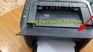Canon LBP 6000B Laser Printer Review & Replacing Toner Cartridge