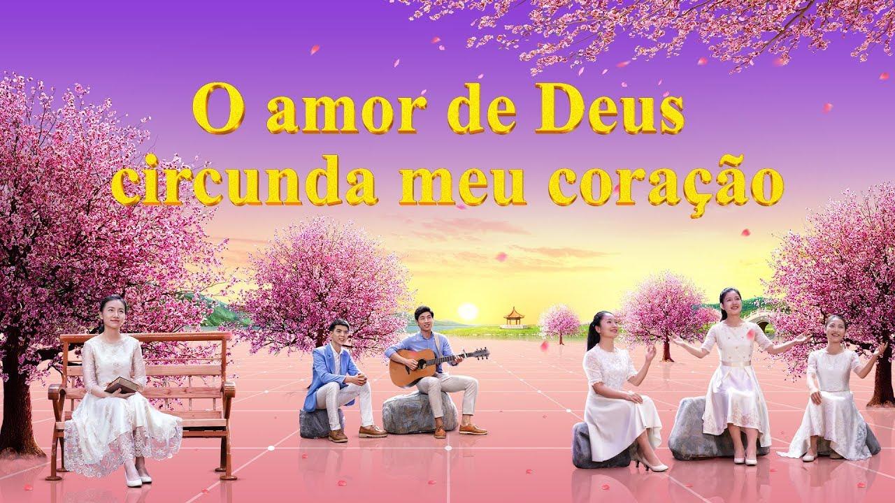 """Música cristã """"O amor de Deus circunda meu coração"""" Dueto feminino"""