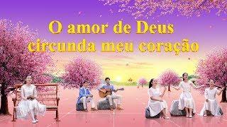 "Música cristã ""O amor de Deus circunda meu coração"" Dueto feminino"