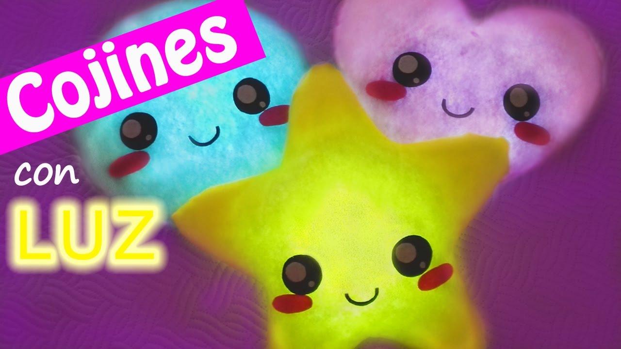 Manualidades: COJINES con LUZ   Innova Manualidades   YouTube