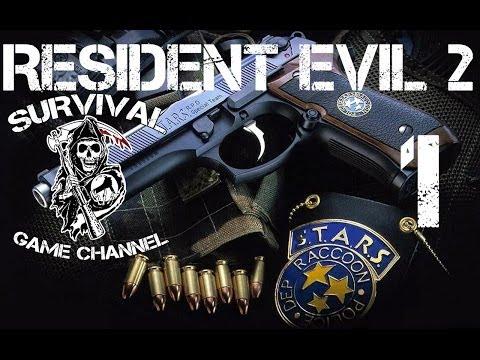 ПРОФЕССИОНАЛЬНЫЙ ПЕРЕВОД — Resident Evil 2: Leon A прохождение [1080p] Часть 1