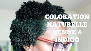 tuto coloration au henne indigo - Coloration Henn Noir