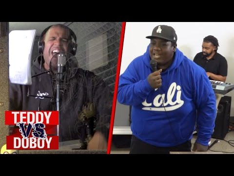 Making a Song Challenge  Teddy vs DoBoy