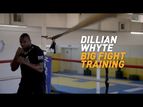 Dillian Whyte - Big fight training camp
