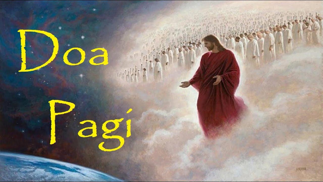 Doa Pagi Katolik [Bangun Tidur]