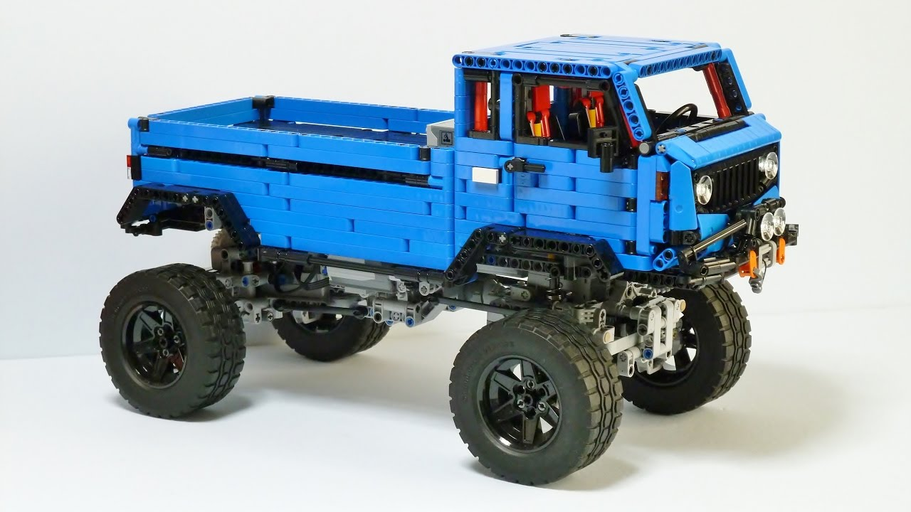 lego technic jeep mighty fc concept with sbrick youtube. Black Bedroom Furniture Sets. Home Design Ideas