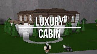 ROBLOX | Welcome to Bloxburg: Luxury Cabin 80k