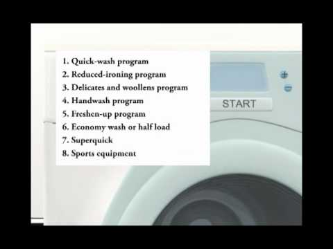 מתקדם מכונת כביסה - הוראות הפעלה - YouTube WT-14
