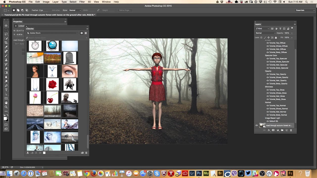 how to use adobe fuse 3d generated characters in photoshop cc youtube
