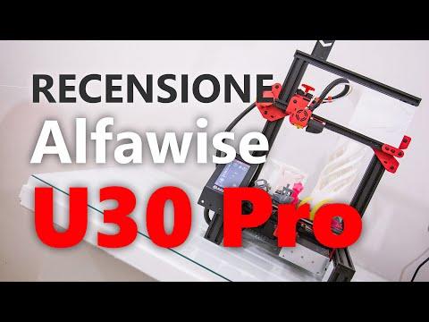 Recensione stampante 3D Alfawise U30 Pro