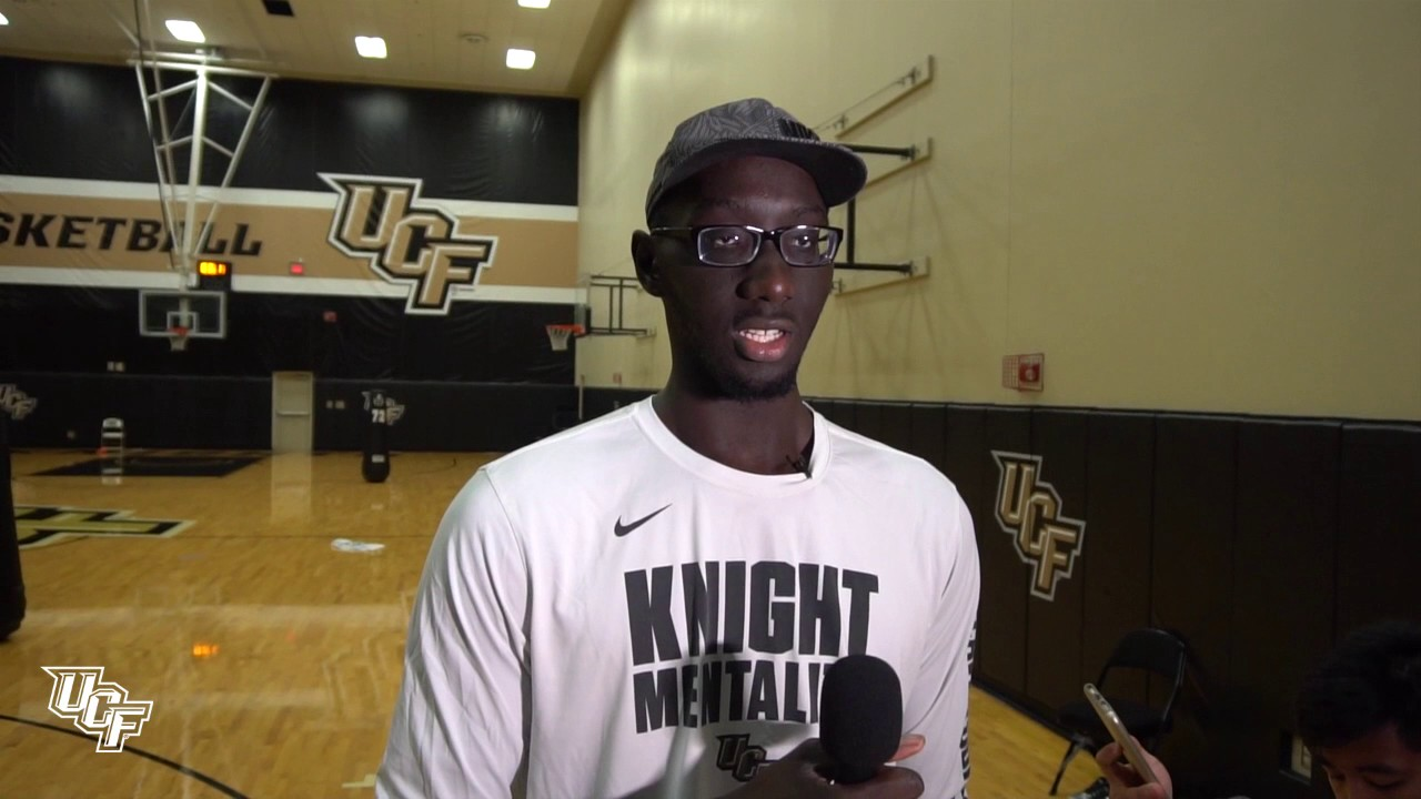 Tacko Fall On Nba Draft Process Returning To Ucf Youtube