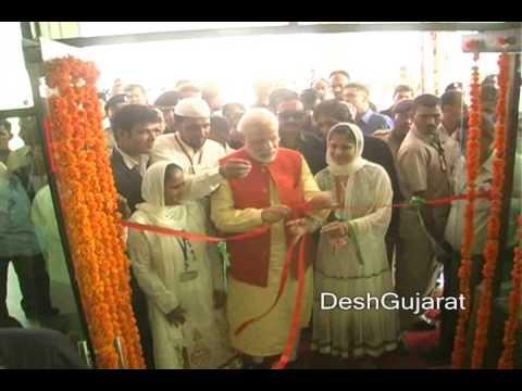 Narendra Modi inaugurates hospital run by Muslim trustees in Gujarat