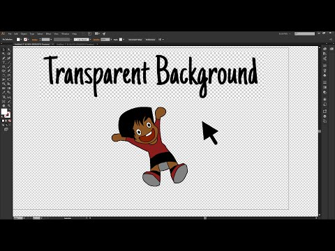 Adobe Illustrator CC - How to Make the Image Background Transparent