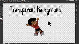 Adobe Illustrator CC - How to Make the Image Background Transparent