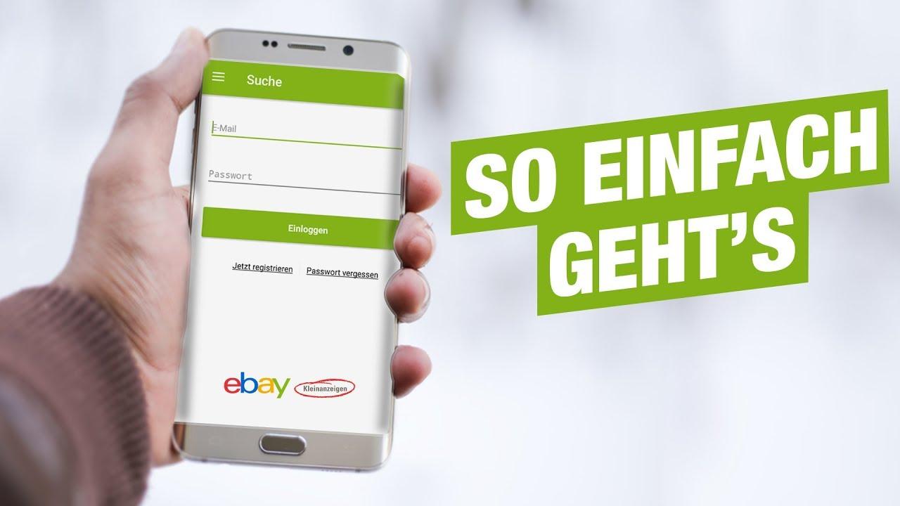 Registrieren Bei Ebay Kleinanzeigen