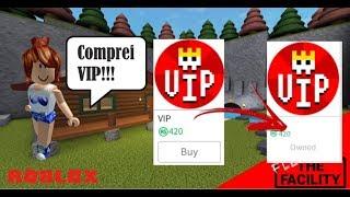 COMPREI O VIP DO MARRET-O POR 420 ROBUX | Roblox - Flieht aus der Anlage