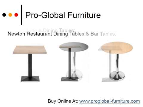 See Bar, Dining & Coffee Height Tables - Restaurant Furniture To Match