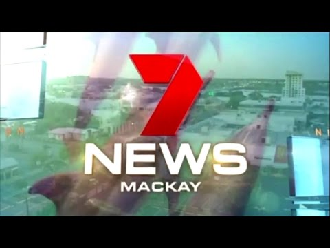 Seven News Mackay Cyclone Debbie coverage 27 Mar 2017