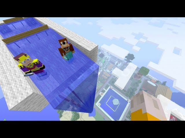 Minecraft Xbox - Vertigo [123] Travel Video