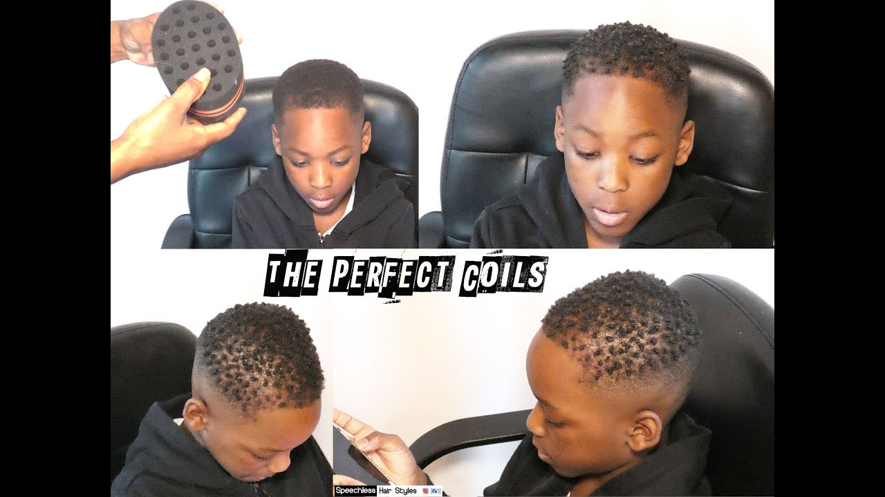 Inspired by WizKid HOW TO MAKE COILS ON SUPER SHORT 4C HAIR