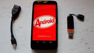 Moto G - How to connect USB drive (OTG Support)