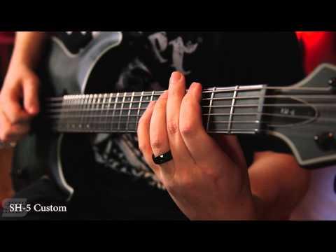 Seymour Duncan 6-String Bridge Pickups 2015, 15 Model Comparison, Metal Rhythm