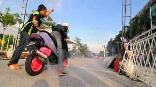 v100 community scooter weekend Malaysia PSK12