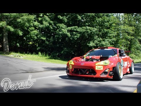 Daily Driving the Ferrari powered Toyota #GT4586 w/ Ryan Tuerck | Donut Media
