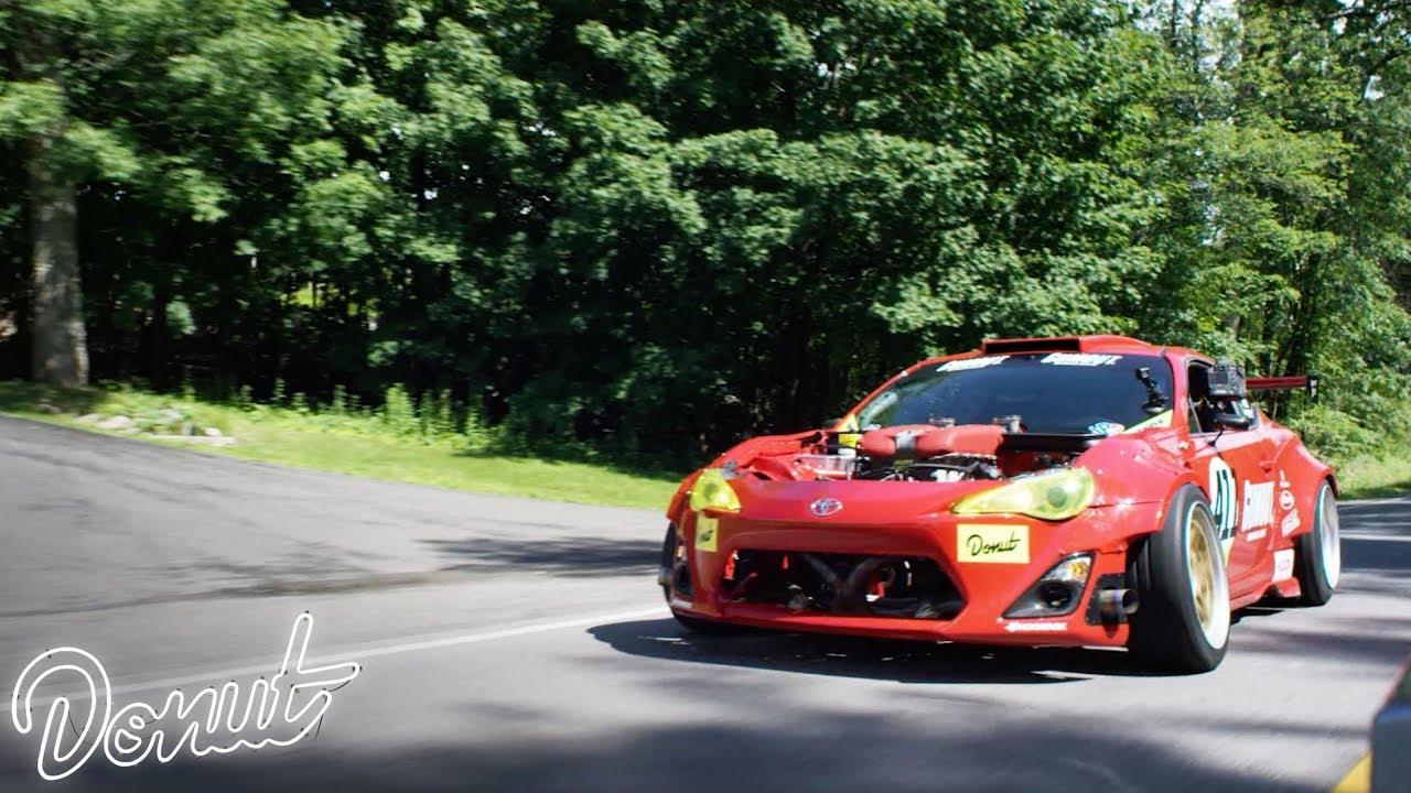 Rip Gt 4586 Ferrari Powered Toyota Drifts A Portland Touge Youtube