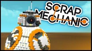 الخردة ميكانيكي - BB-8 الروبوت, تحويل السيارة الطائرة & ضخمة تحلق سفينة شحن!