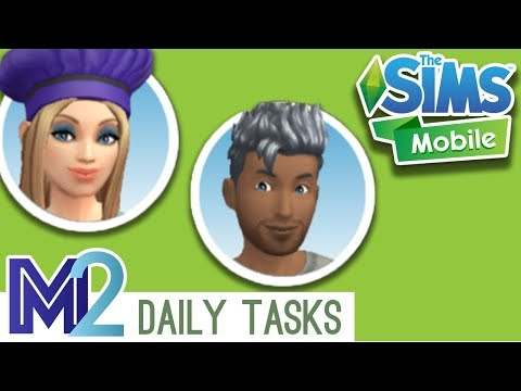 The Sims Mobile - Daily To Do List & Pre-Register to Play! (Let's Play Walkthrough)