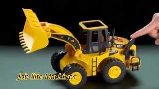 Toy State Caterpillar Construction Job Site Machines Dump Truck Toys Games
