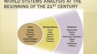 Immanuel Wallerstein's World Systems Analysis