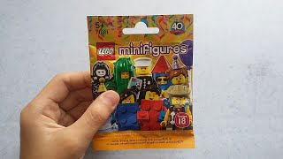 LEGO Minifigures - Series 18 pack opening! (15/4/2018)