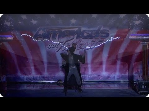 Arc Attack Produces Music With Lightning - America's Got Talent Audition