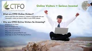 CTFO CBD Opportunity    How Online Visitors Work