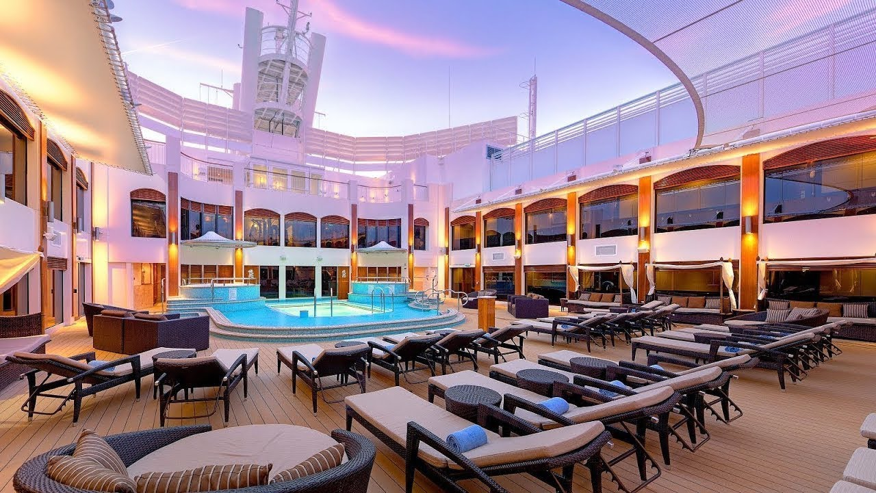 Norwegian Cruise Line The Haven Au Youtube
