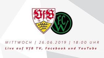 LIVE ab 18 Uhr: VfB Stuttgart - Wacker Innsbruck