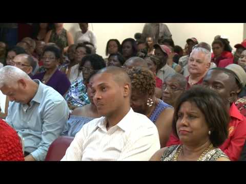 May 2nd 2017, PNM Meeting Diego Martin Indoor Meeting - Colm Imbert