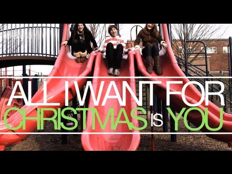 All I Want For Christmas Is You - Mariah Carey ft. Justin Bieber (MUSIC VIDEO)