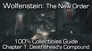 Wolfenstein: The New Order - Chapter 1 Collectibles - Deathshead
