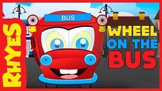 """Nursery Rhymes For Kids"" Wheels On The Bus/""Nursery Rhymes For Children""/nursery rhymes for toddler"